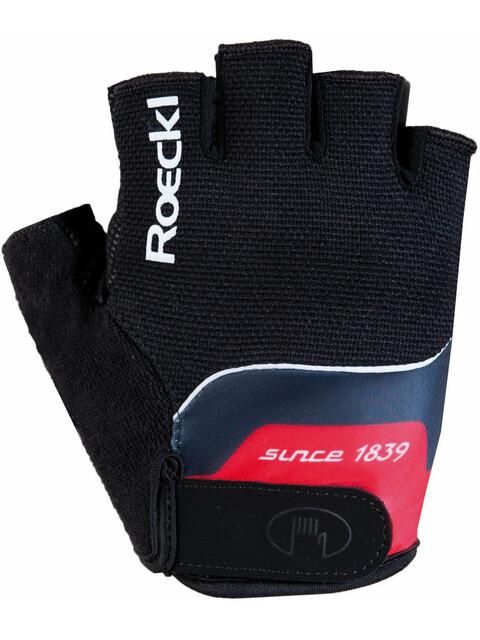 Roeckl Nano Handschuhe schwarz/rot